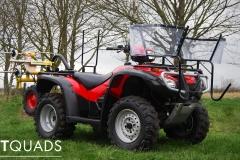 Platt Quads - Used Honda TRX quad bike with Rappa, Yorkshire