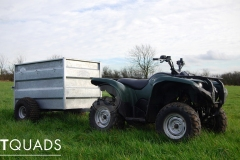 Platt Quads - Used Yamaha Grizzly quad bike with Trailer, Yorkshire