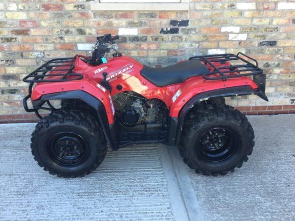 Platt Quads Used Yamaha Grizzy 350 ATV quad bike atv utv York yorkshire humberside lincolnshire